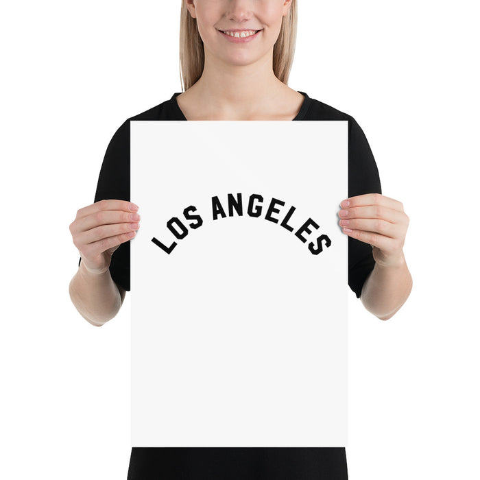 Los Angeles 12x18 Poster