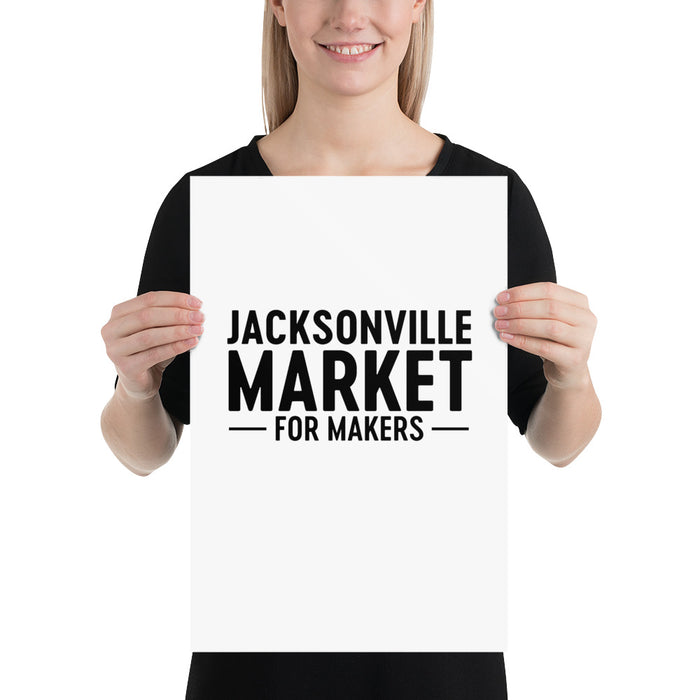 Jacksonville Market for Makers Poster