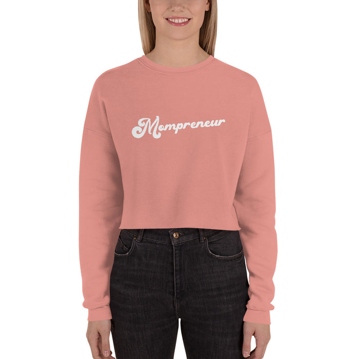 Mompreneur Crop Sweater