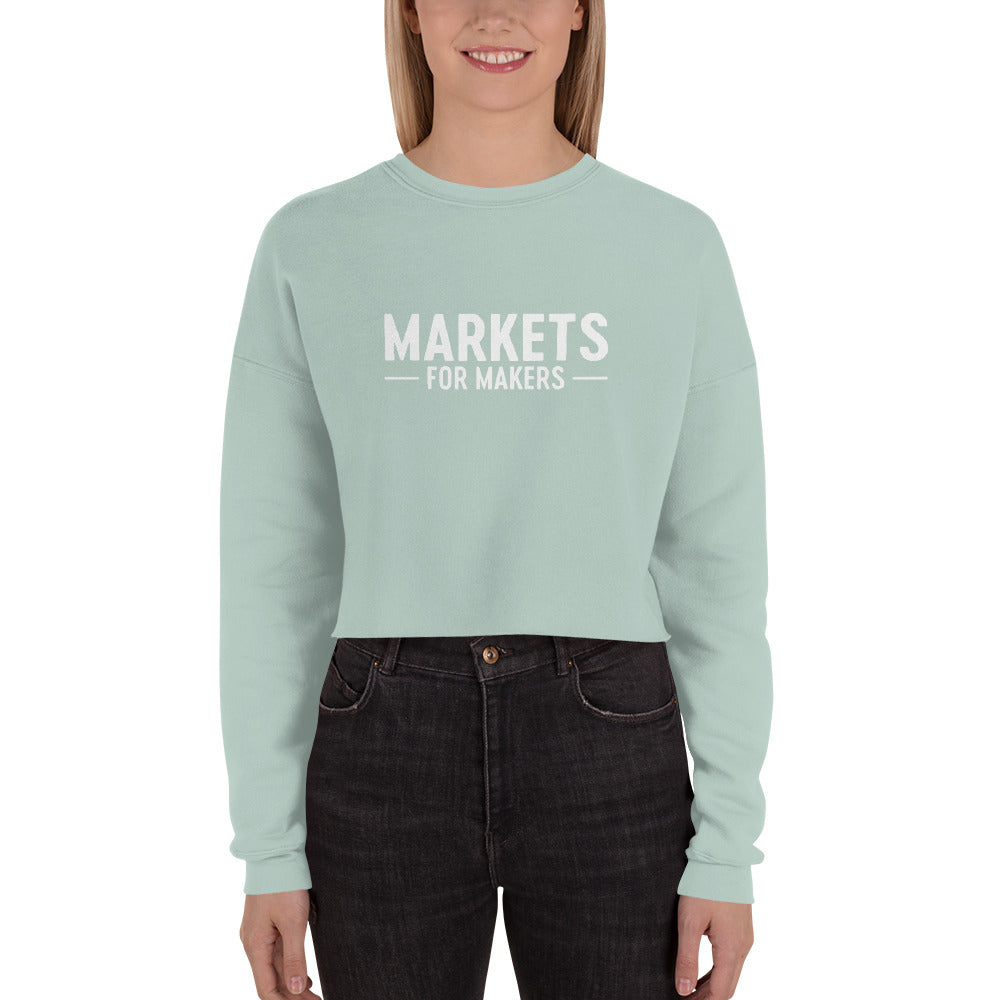Markets for Makers Crop Sweater