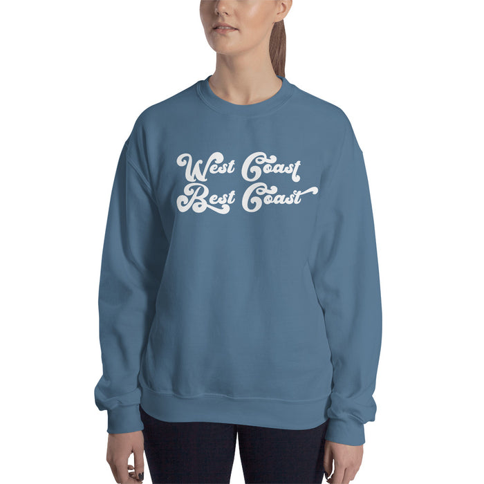 West Coast Best Coast Sweatshirt