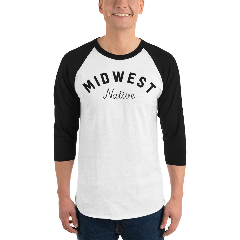 Midwest Native 3/4 Raglan Shirt