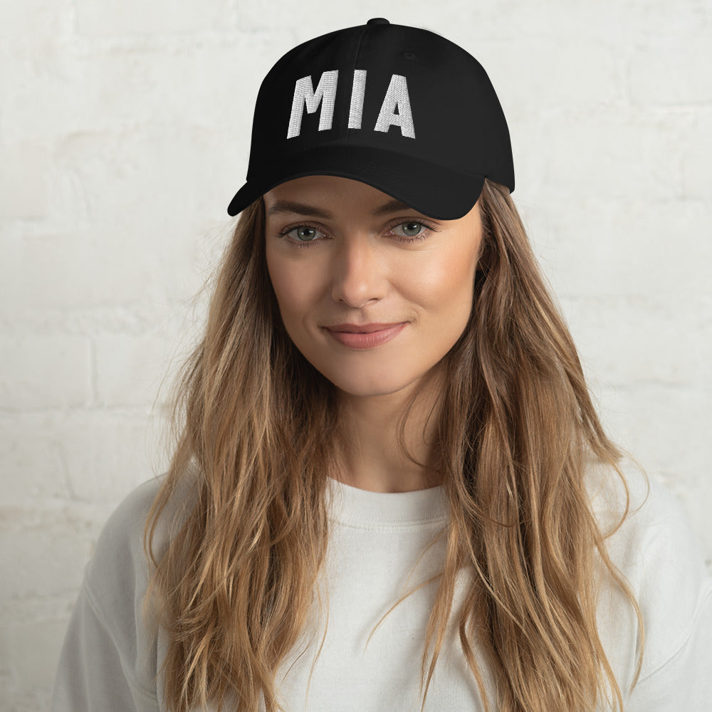 MIA 3D Embroidered Dad Hat