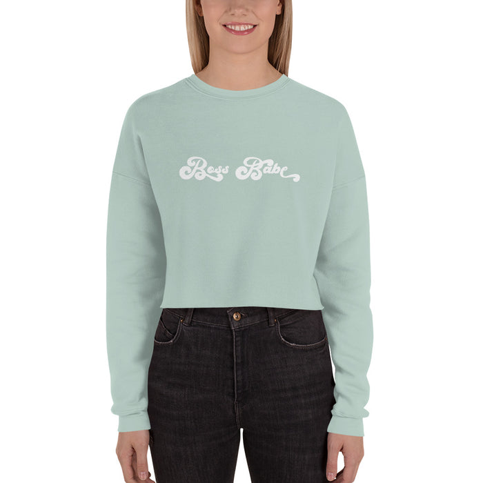 Boss Babe Crop Sweater