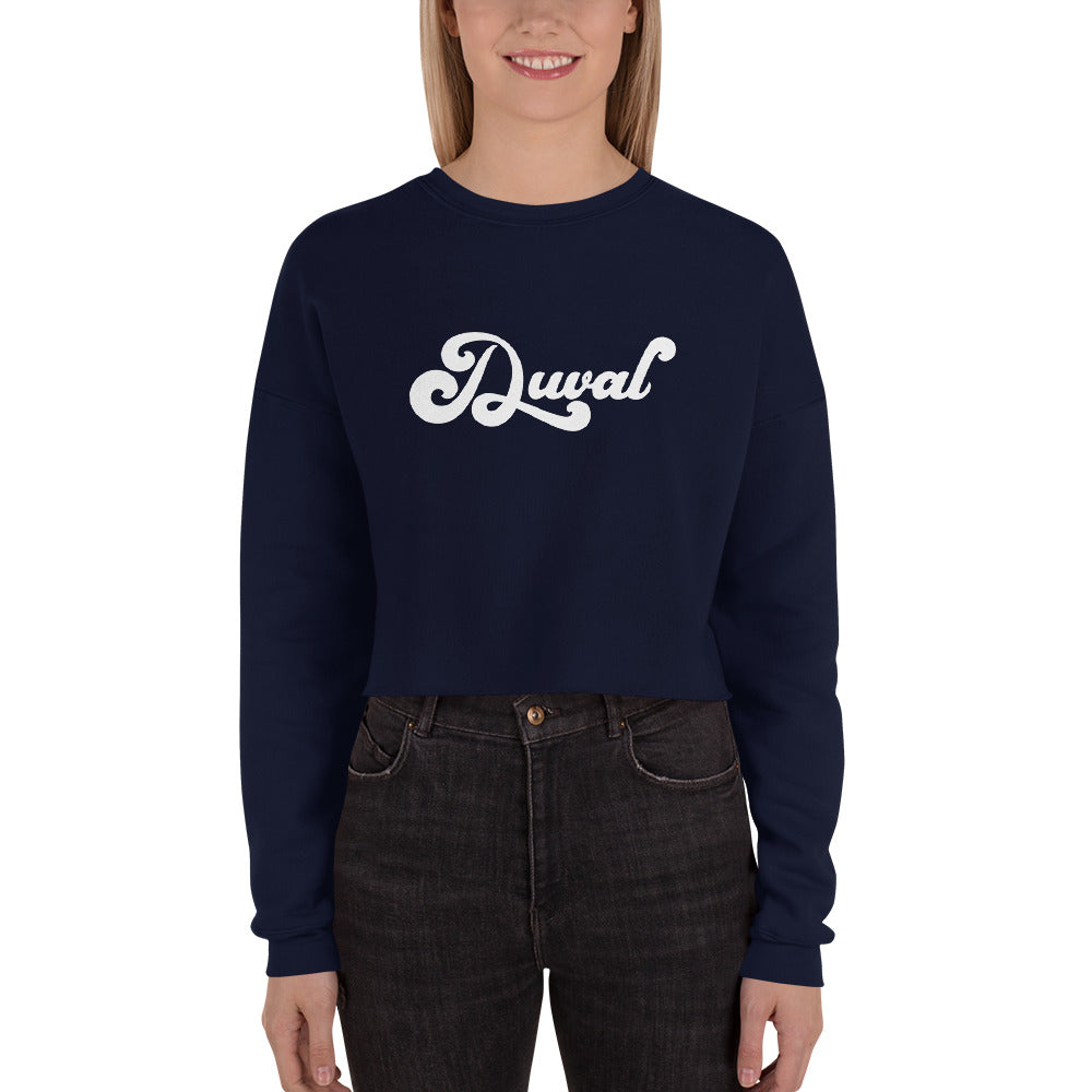 Jacksonville Duval Crop Sweater