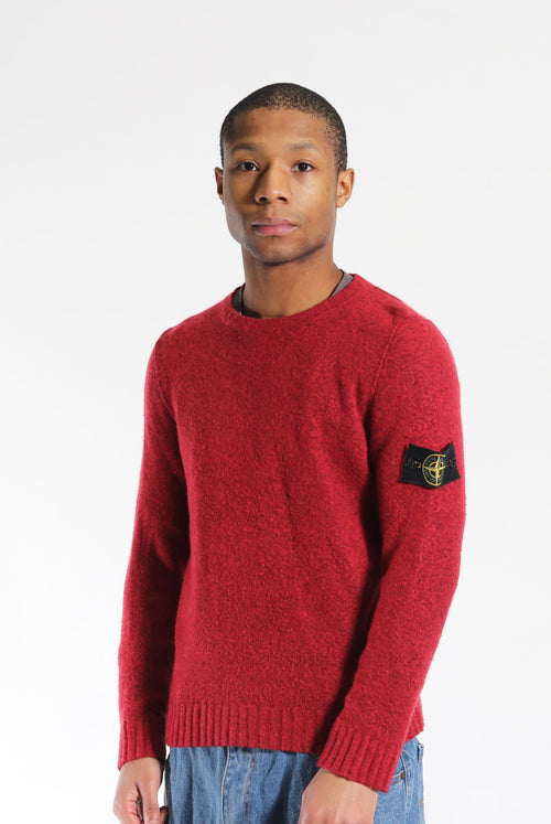 Stone Island A/W 16 Wool Jumper Red