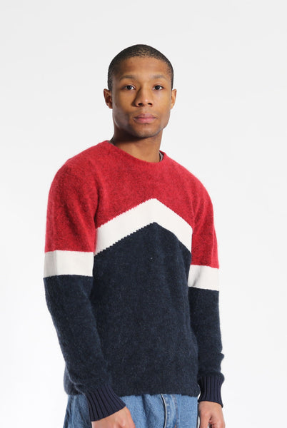Moncler Wool Jumper Red