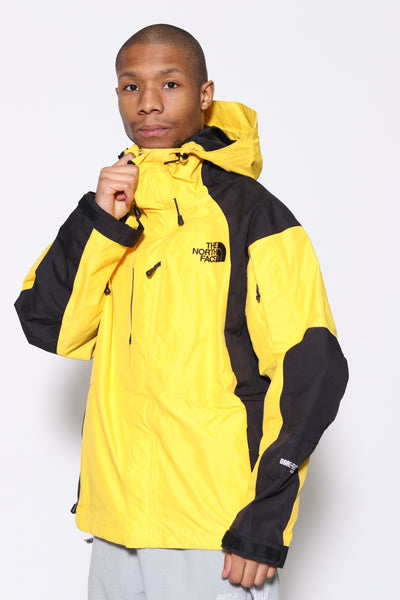 Vintage The North Face Gore-Tex Jacket Yellow | Size M
