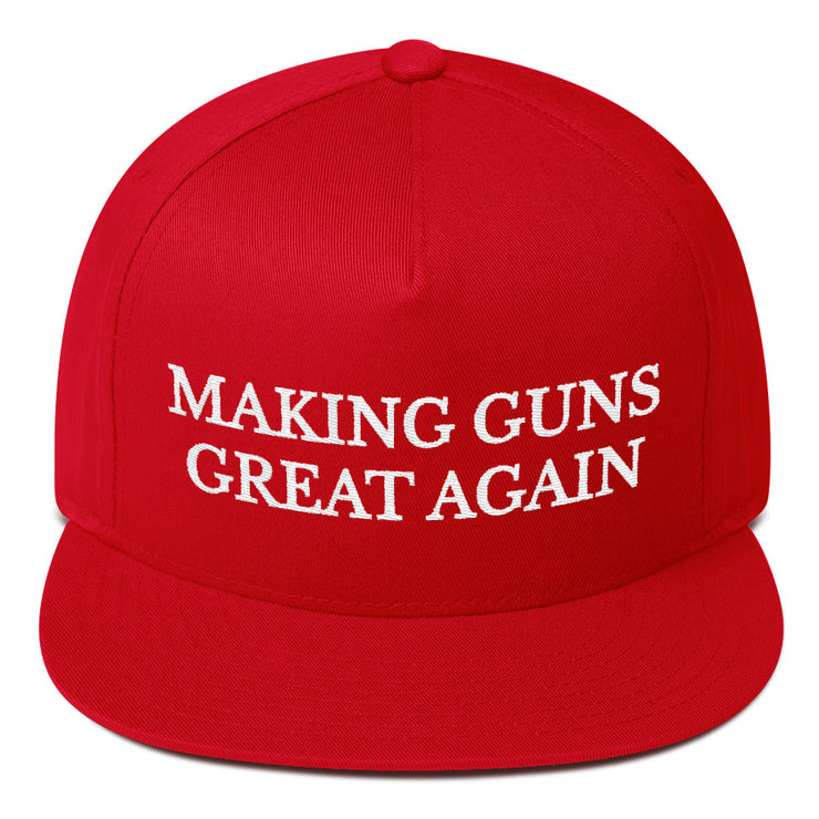 Making Guns Great Again Flat Bill Cap