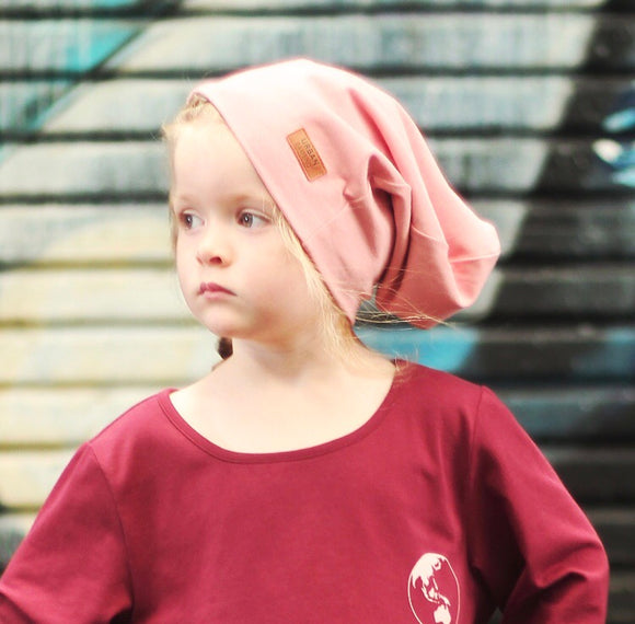 ROSE SLOUCH BEANIE