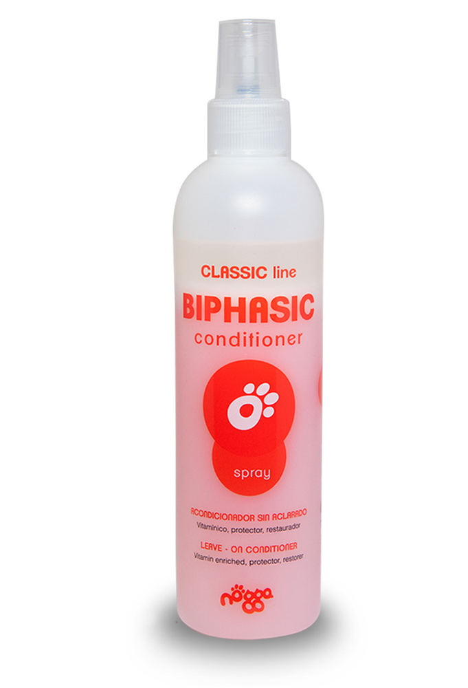 Biphasic spray