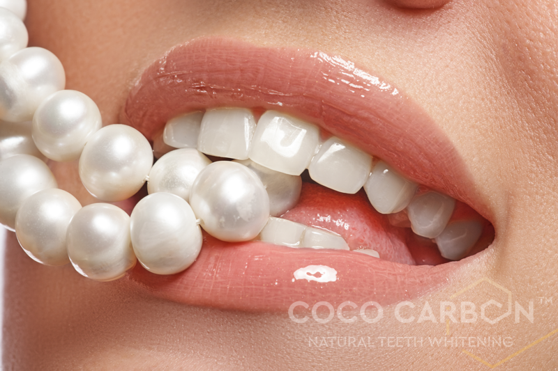 100% natural teeth whitening