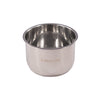 Instant Pot Stainless Steel Inner Pot 3 Quart on angle