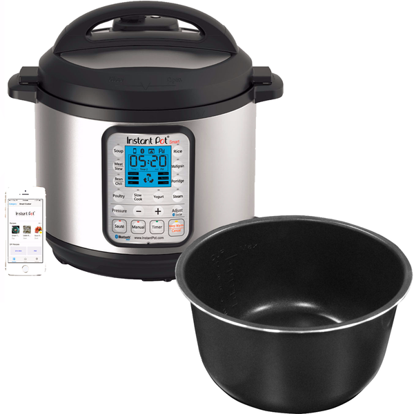 Smart 60 (6 Quart) + Ceramic Inner Pot for HipPressureCooking Readers