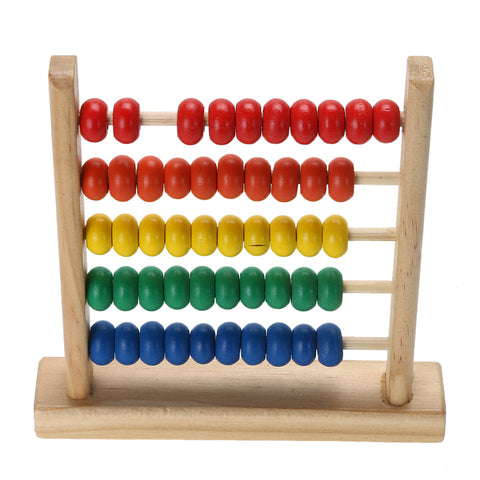 Mini Wooden Abacus Learning Toy