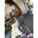 Lower Waist Leggings Women Sexy Hip Push Up Pants Leggings