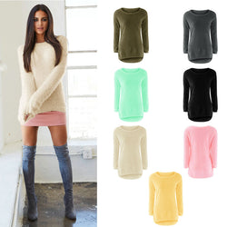 LADIES WOOL PULLOVER SWEATER