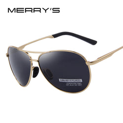 MERRY'S Men's UV400 Polarized Driving Shield SunGlasses