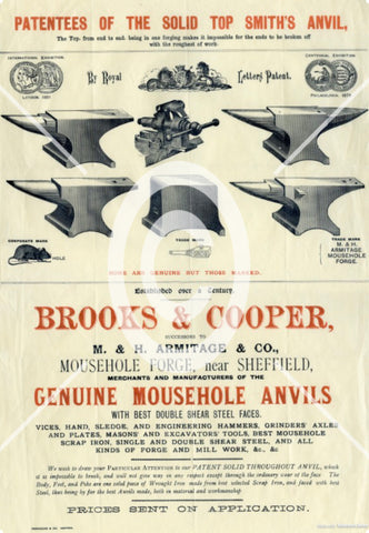 Mousehole Anvil Forge Poster