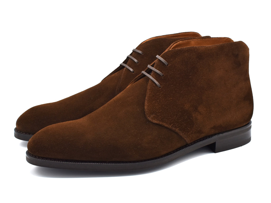 Ballard III - Dark Brown Suede