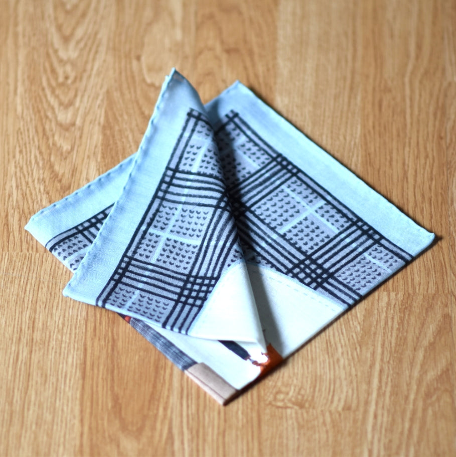 THE DAPPER FOX POCKET SQUARE