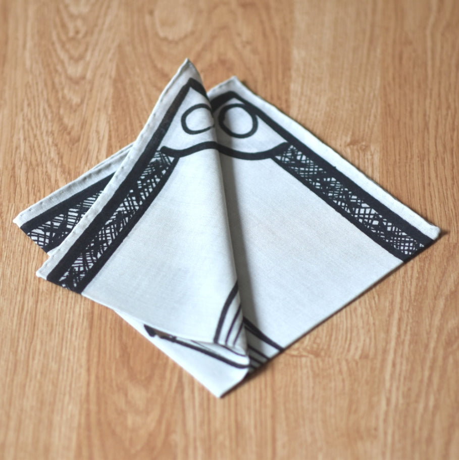 THE SHOE POCKET SQUARE