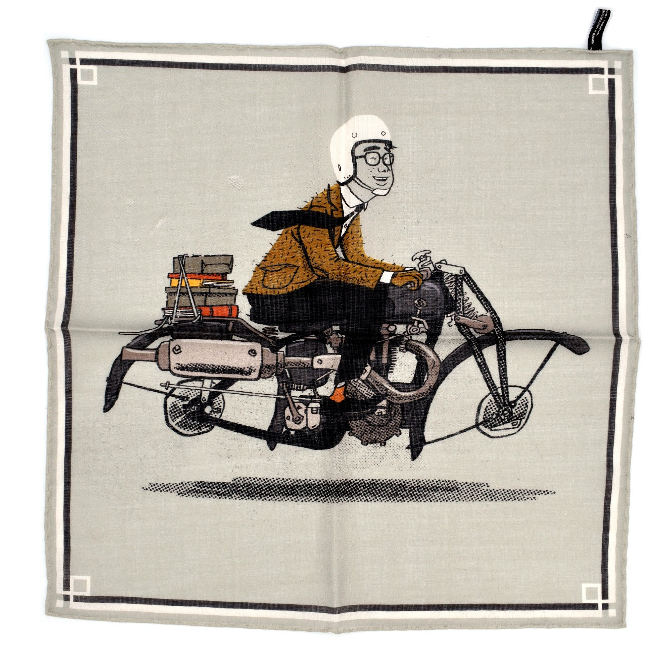 THE MOTORBIKER POCKET SQUARE
