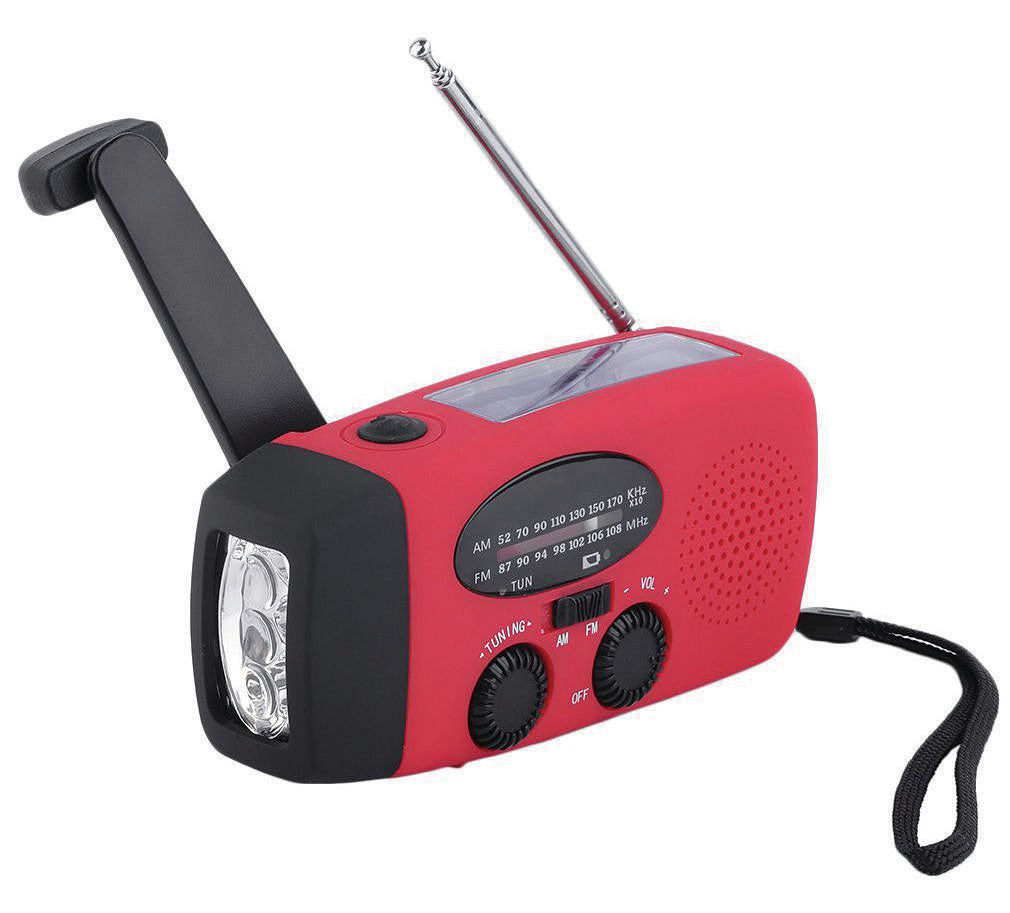 Avventura Outdoors Hand-Crank Radio/Light/Charger