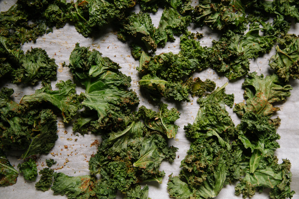 Moringa Powder Kale Chips