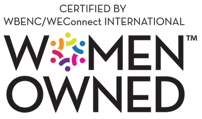 WBENC Woman Owned and Certified Business Logo