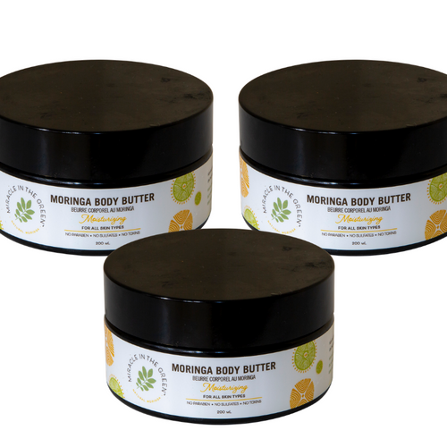 Nourishing and Hydrating Moringa Face and Body Butter