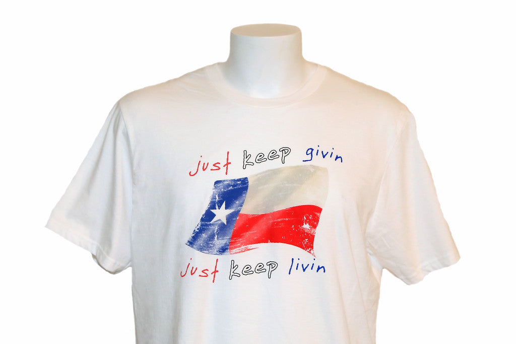 Just Keep Givin - Special Edition T! On Sale Now