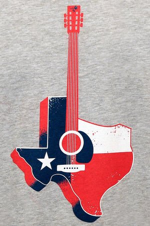 Limited Edition jkl Texas Relief Fund Custom Guitar T shirt