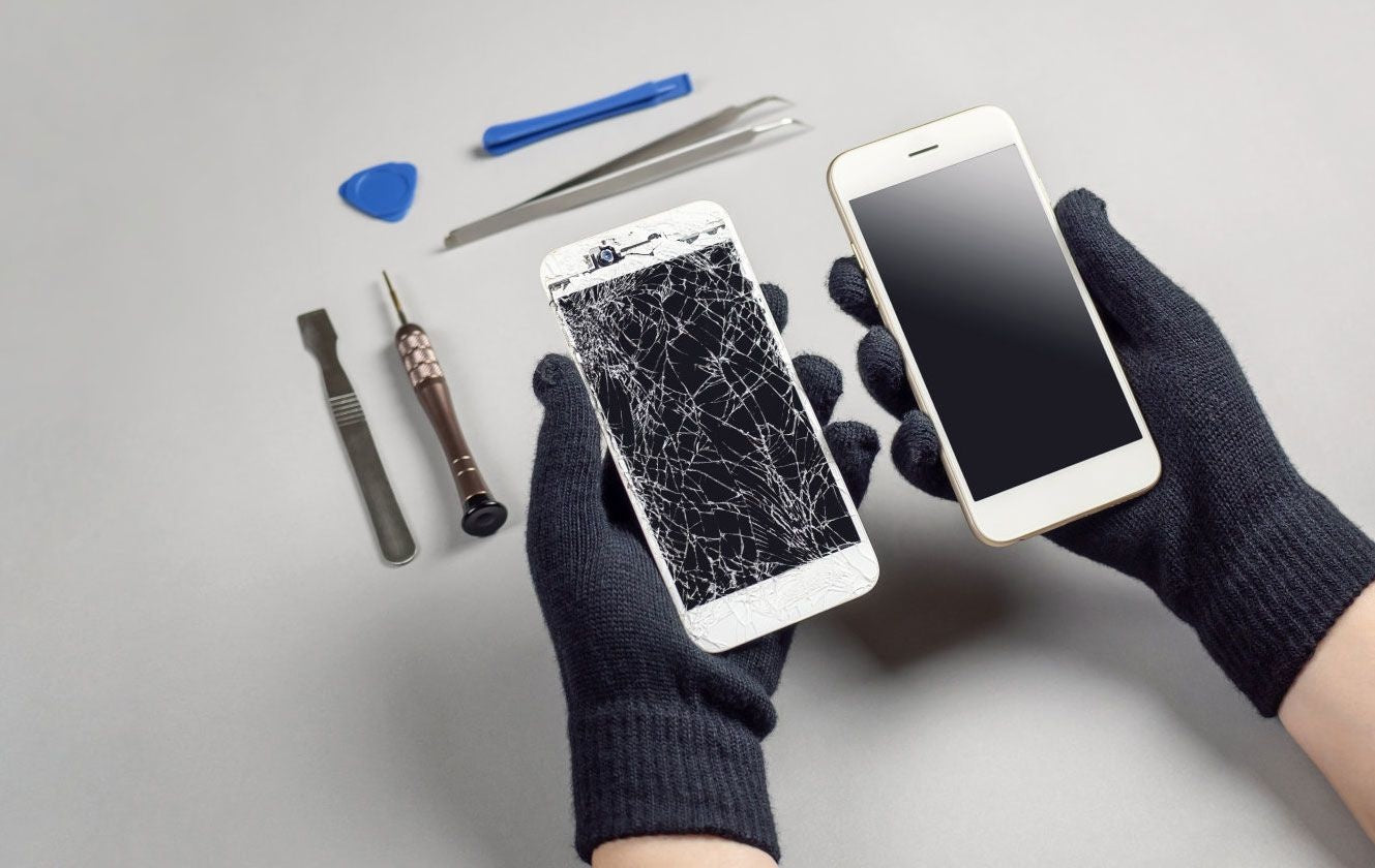 What are the benefits of fixing a phone?