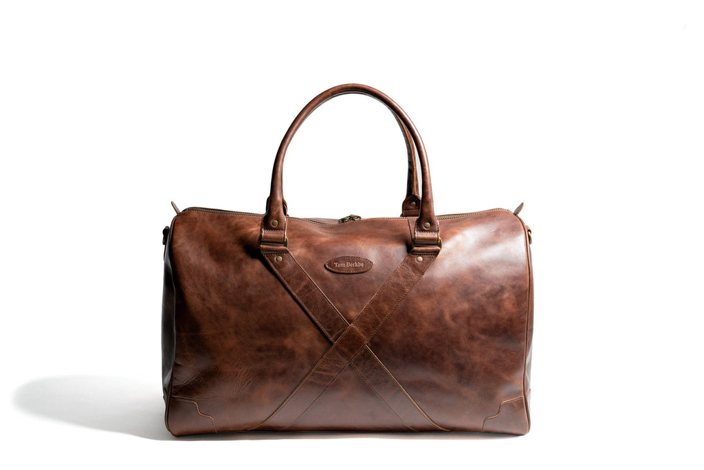 Leather Weekender