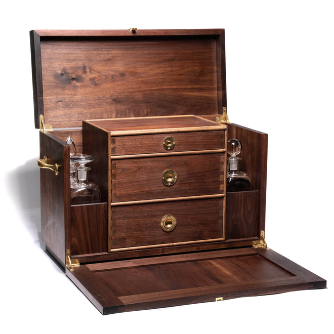 Tom Beckbe Other Walnut Campaign Chest