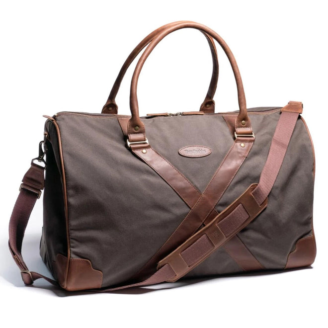Tom Beckbe Bags Bark Field Canvas Weekender
