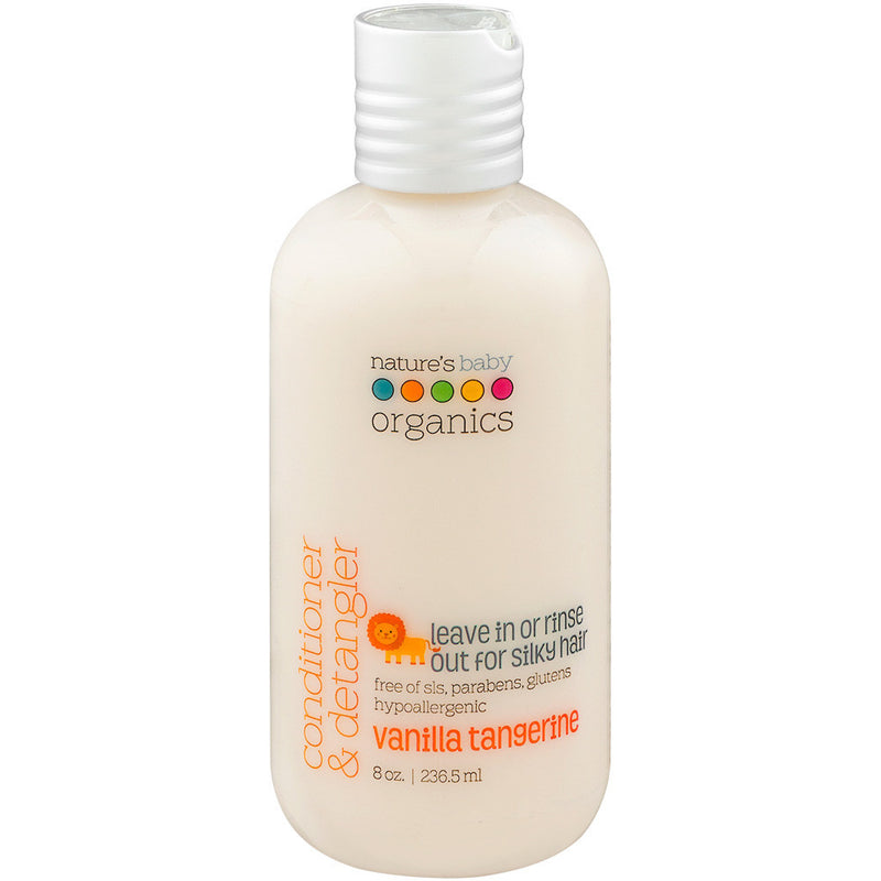 Conditioner & Detangler Vanilla Tangerine 8 oz