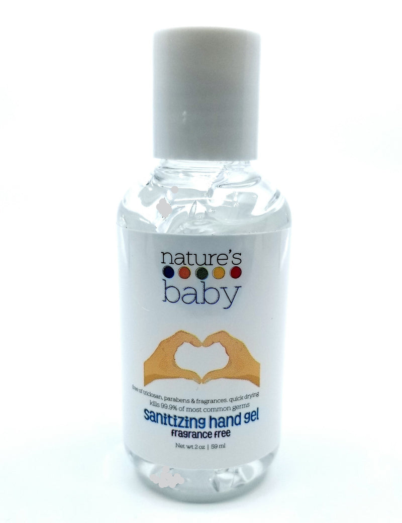 Hand Sanitizer 70% Ethyl Alcohol Fragrance Free* 4 Pack 2 oz