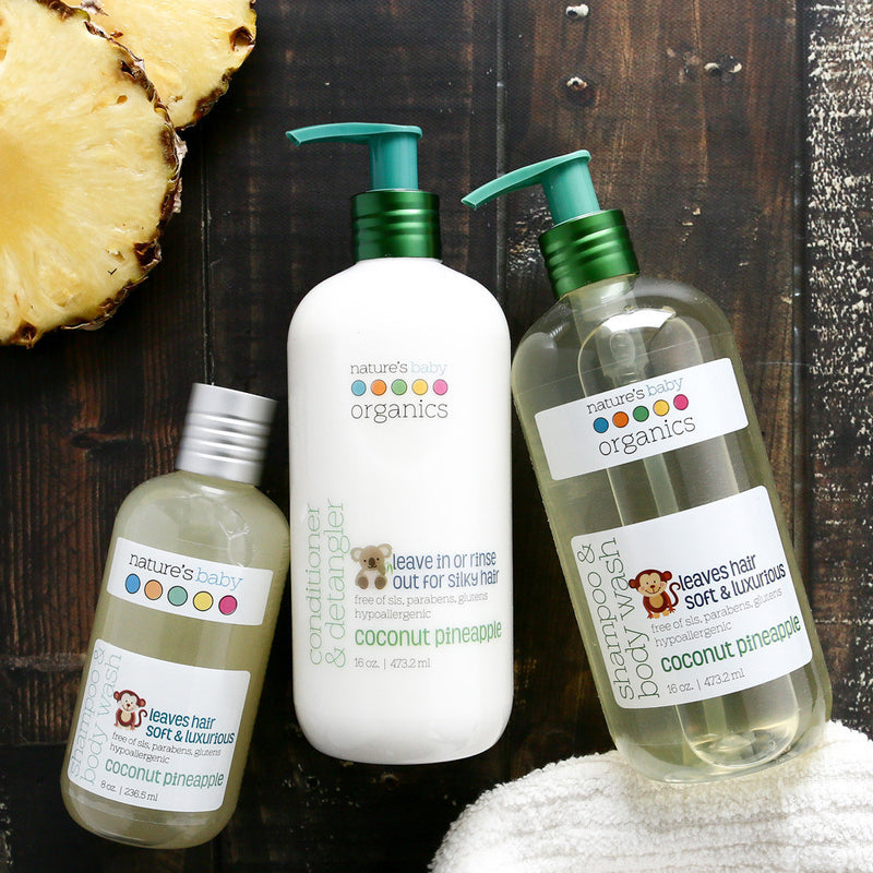 Shampoo & Body Wash Coconut Pineapple