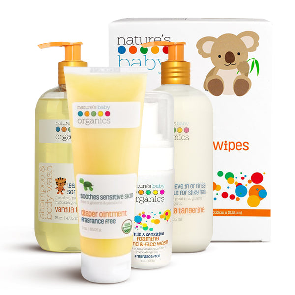 Mix Bag Bundle by natures baby organics