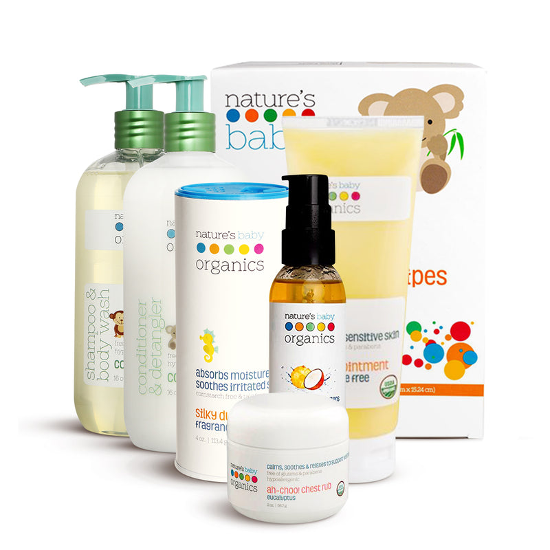 natures baby organics The Luxury Bundle