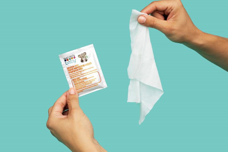 Alcohol-Free Hand Sanitizing Wipes 60 Count Individually-Wrapped