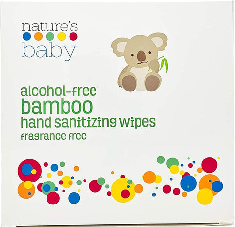 Bamboo Hand Sanitizing Wipes