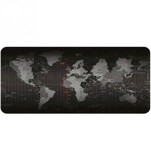 World Map Keyboard and Mouse Pad - Twilight Gamers