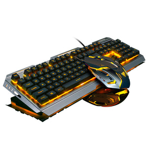 Backlit LED Gaming Keyboard and Mouse - Twilight Gamers
