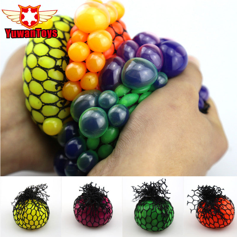 Squishy Grape Ball Stress Reliever - Twilight Gamers