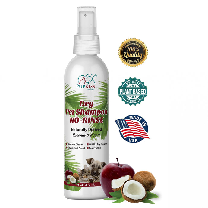 Dry Pet Shampoo No-Rinse