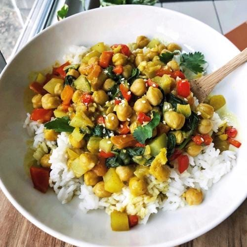 Amy's Vegan Chickpea & Coconut Curry