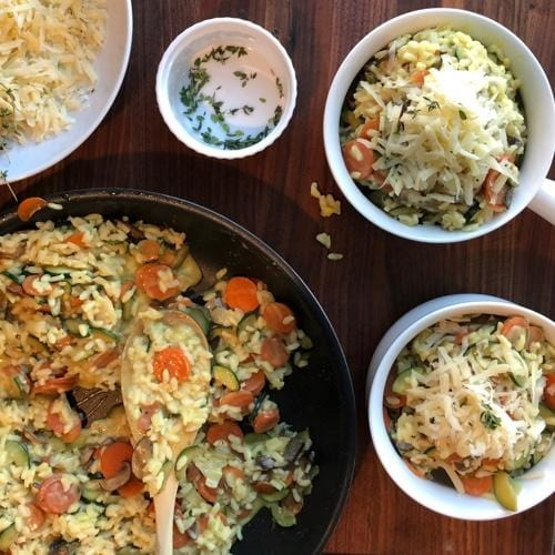 Courtney & Forrest's Vegetable Risotto